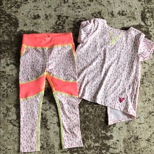 NWOT active crewcuts outfit